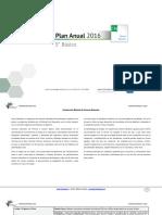 Planificacion Anual Ciencias Naturales 5basico 2016