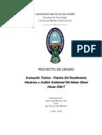 rendimiento motor, Favio José