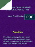 proposal penelitian smt iv.ppt