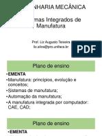 Aula 1 - Sistemas Integrados de Manufatura
