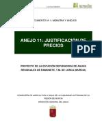 Anejo11_justificación de Precios