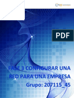 Grupo 207115 45 Fase 3 Configurar La Red