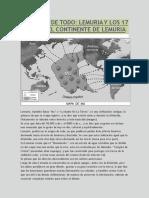 Lemuria, Los 17 Sabios y El Origen de Todo