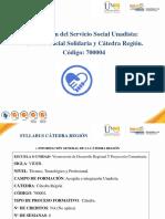 Presentacion Cátedras Región 2016