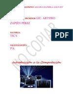 Introducción a La Computación TIC's