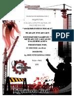Estructuracion, Predimensionamiento y Metrado