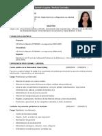 Cv Sandra Nuñez Cercado