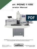 Tornmach Pcnc1100 Manual 0916a