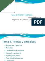 20120116 Tema 8. Presas y Embalses