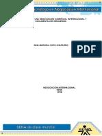 Evidencia 5 Formulacion de Una Negociacion Comercial Internacional y Documentacion Requerida