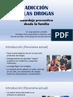 Conferencia Prevenci¢n de Adicciones - Dr. Jorge Quintero