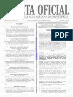 Gaceta Oficial 41052 Facturacion