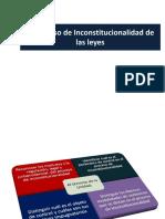 Proceso de Inconstitucionalidad de Las Leyes