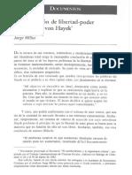 Cap 10 La Concepción de Libertad-poder de Friedrich Von Hayek