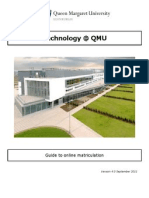 Guide to Online Matriculation