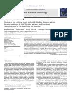 Chang Et Al. 2011 (Variantes de NOD 2 en Trucha Arcoiris)