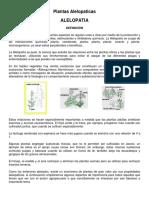 Plantas Alelopaticas