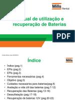 Manual de utilização e recuperação de Baterias final