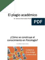 El Plagio Académico