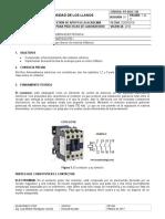 PRACTICA 1 Arranque Directo Motor Trifasico