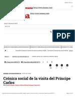 s17 2014 11 01 Crónica social de la visita del Príncipe Carlos