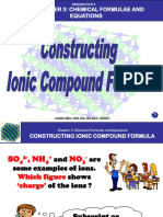 Contruct Ionic Formula