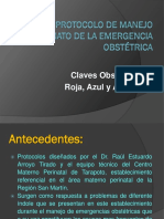 1.-Emergencia Obstetica Claves Miercoles