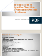 Prof. Alvin Clase 4 Planteamiento Del Problema