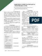 Uso de Algoritmos Computacionais na Engenharia Civil