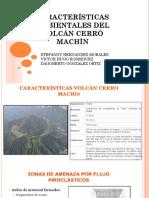 Características Ambientales Del Volcán Cerró Machín Presentacio