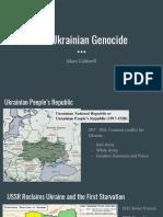 ukranian genocide