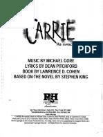 Carrie the Musical (2012 Revival) Script.pdf