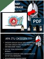 Pemasangan Oksigen Nasal Kanul