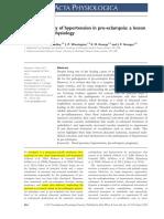 Preeclampsia Fisiopatologia