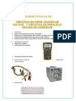Informe Final de Electotecnia # 6