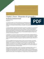 Cid Gonzalo y Fernandez Leonardo Elementos de Geografía y Territorio Homosexual