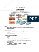 Biology Form 4 Chapter 5 Cell Division