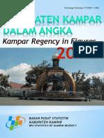 Kabupaten Kampar Dalam Angka Tahun 2017