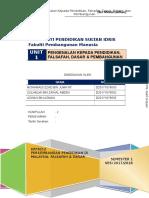 KPF 3012 - Pengenalan Falsafah & Dasar