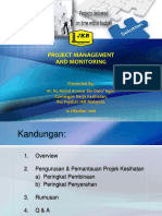 14.Project Management Monitoring - Tn Hj Mohd Annuar