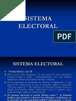 Sistema Electoral, 2014