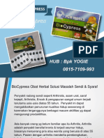 0813-2152-9993 (Bpk Yogie) | Obat Herbal Nyeri Sendi Dan Kesemutan, Biocypress Makassar