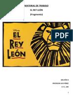 El Rey León (Yo Quisiera Ya Ser El Rey)