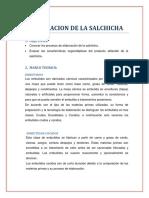 Elaboracion de La Salchicha