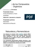 Propiedades Fisicas de Los Compuesto Organicos y Alcanos