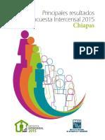 Principales resultados de la Encuesta Intercensal 2015