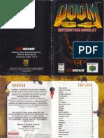 Doom_64_-_Manual_-_N64