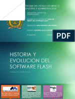 Linea de Tiempo de Software Flash