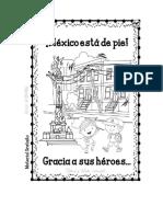 Libro Para Colorear Mexico Esta de Pie