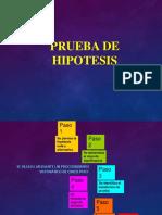 Prueba de Hiptesis